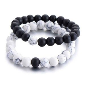 Distant Couples Bracelet – Classic Natural Stone Bracelet