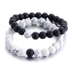 Distant Couples Bracelet – Classic Natural Stone Bracelet