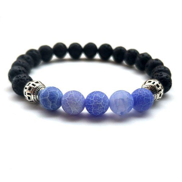 Yoga Jewelry Multicolor Beads Stone Bracelet-Bl