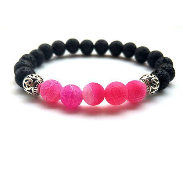 Yoga Jewelry Multicolor Beads Stone Bracelet-RR