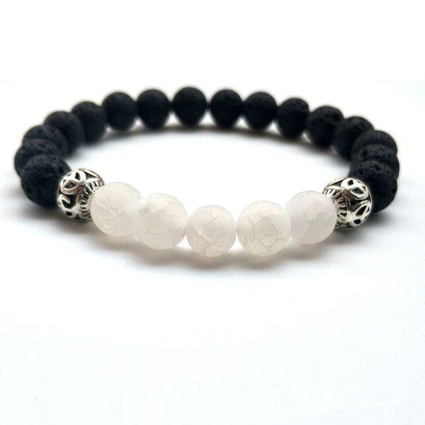 Yoga Jewelry Multicolor Beads Stone Bracelet-W