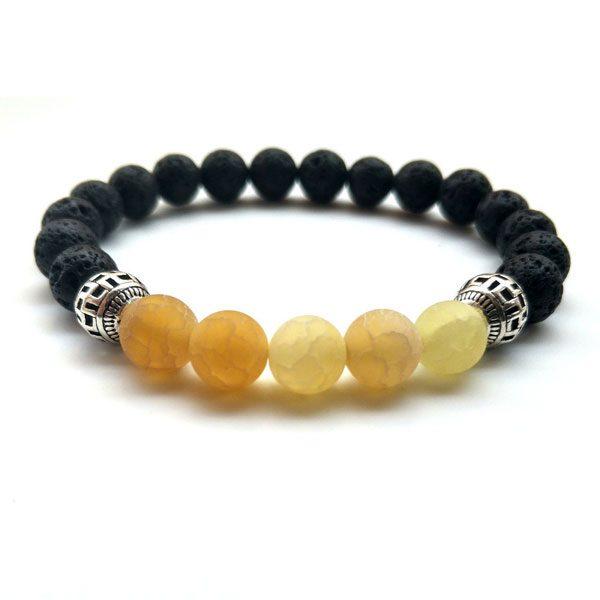 Yoga Jewelry Multicolor Beads Stone Bracelet-Ye
