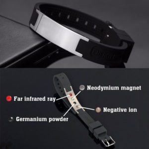Power Silicone Wristband 4 In 1