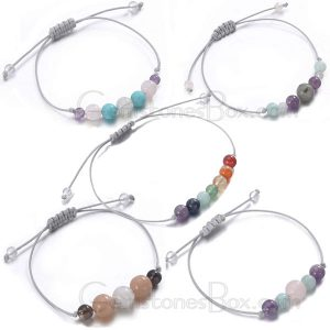 Mutil Color Bracelet With Natural Stones