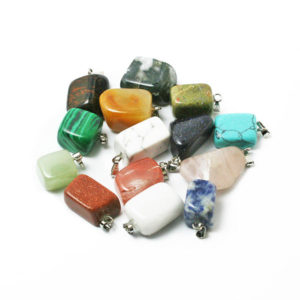 Irregular Natural Stone Necklace Pendants